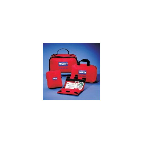 "North Safety Redi-Care 4 3/4"" X 5"" X 2 1/2"" First Aid Kit"