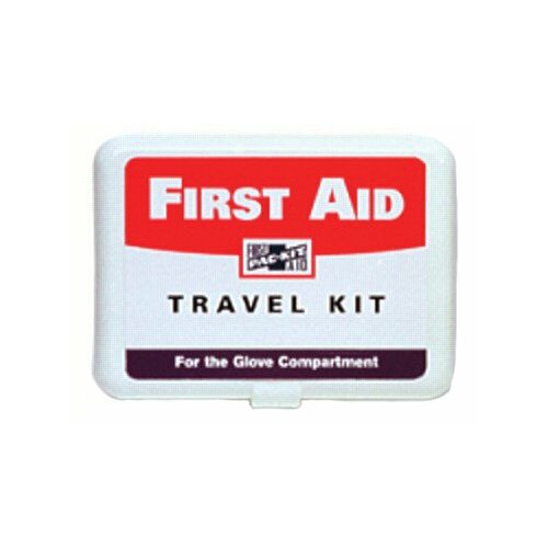 Pac-Kit Plastic Travel Kits - personal first aid travel kit