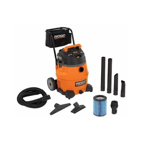 Ridgid 16 Gallon 6.5 Peak HP Ridgid - Provac Series Wet/Dry Vacuum