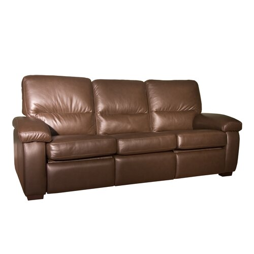 Midland Leather Reclining Sofa