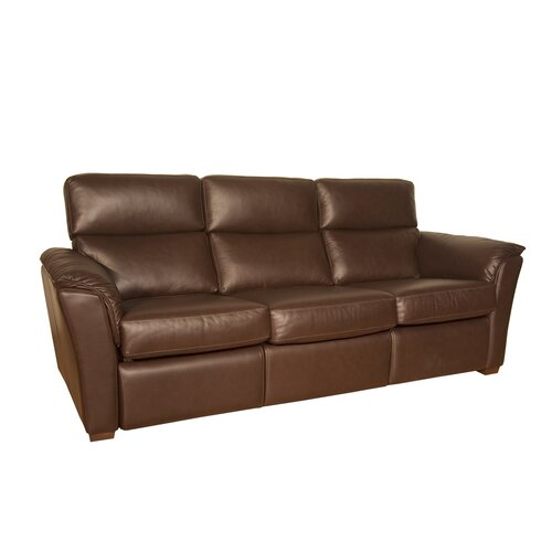 Bradford Leather Reclining Sofa