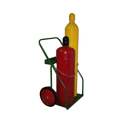 "Saf-T-Cart 800 Series Carts - cart with sc-43 wheel 21"" cylinder capacity"