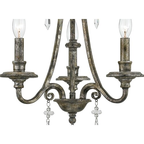 Quoizel Kendra 3 Light Mini Chandelier