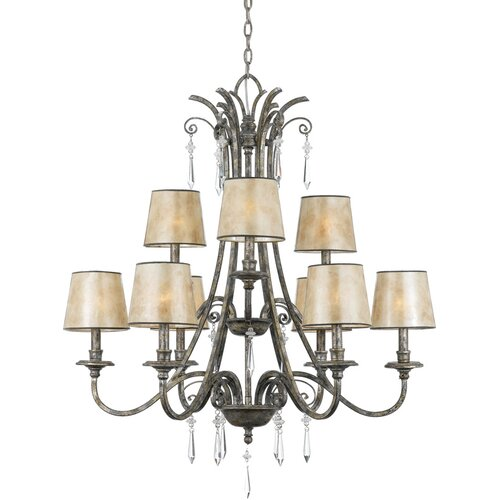 Kendra 9 Up Light Chandelier