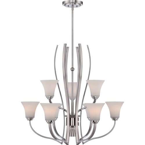 Kemper 9 Light Chandelier