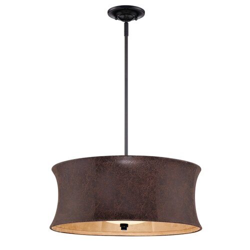 Sierra 1 Light Drum Pendant