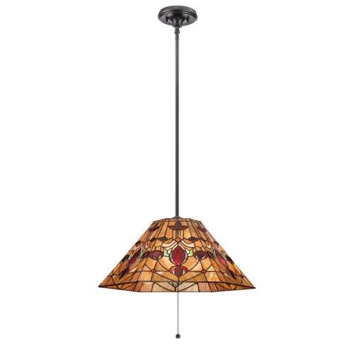 Quoizel Tiffany 1 Light Inverted Pendant