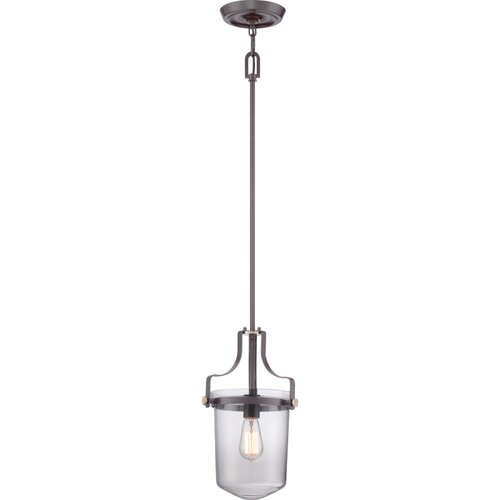 Uptown Penn Station 1 Light Mini Pendant