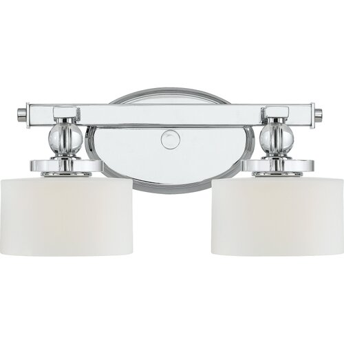 Quoizel Vanity Lights : Quoizel Downtown 2 Light Vanity Light & Reviews Wayfair