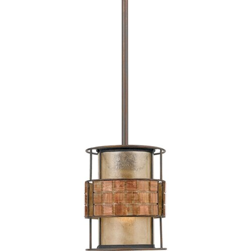 Quoizel Mica 1 Light Mini Pendant