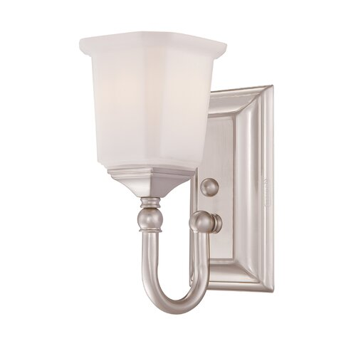 Quoizel Nicholas 1 Light Bath Vanity Light