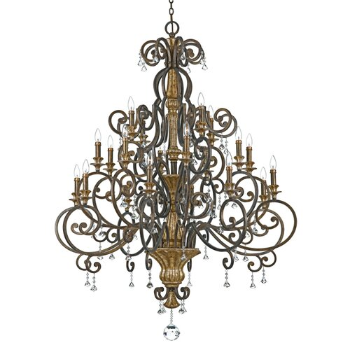 Marquette Chandelier in Heirloom
