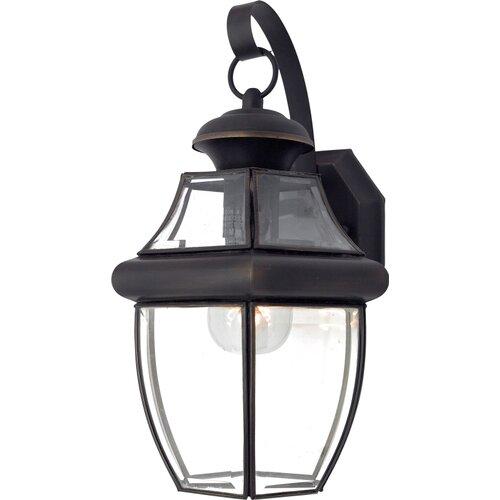 Quoizel Newbury 1 Light Outdoor Wall Lantern