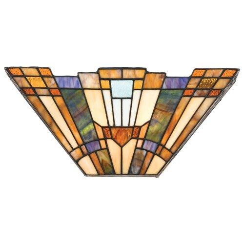 Quoizel Inglenook 2 Light Tiffany Wall Sconce