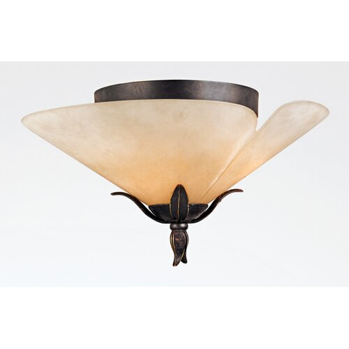 Quoizel Yuma Semi Flush Mount