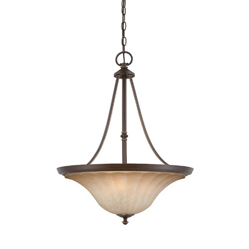Quoizel Aliza 4 Light Inverted Pendant