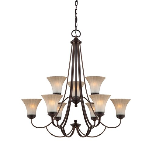 Aliza 9 Light Chandelier