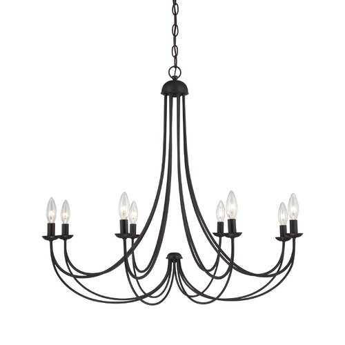 Quoizel Mirren 8 Light Chandelier