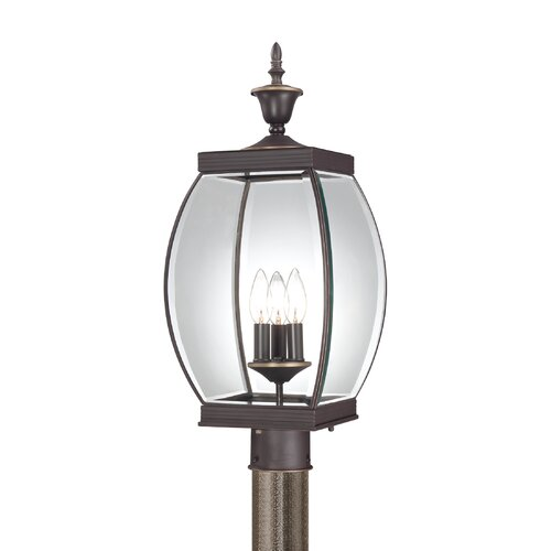 Quoizel Oasis 3 Light Outdoor Wall Lantern