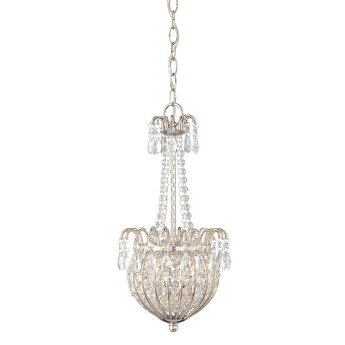 Quoizel Jolene 2 Light Inverted Pendant