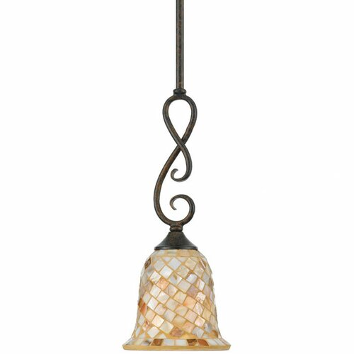 Quoizel Monterey Mosaic 1 Light Piccolo Pendant