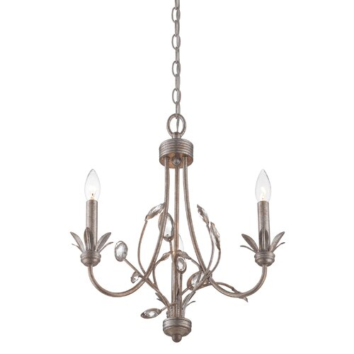 Wesley 3 Light Chandelier