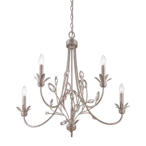 Quoizel Wesley 5 Light Chandelier