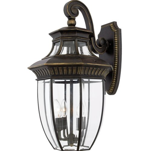 Quoizel Georgetown 4 Light Outdoor Wall Lantern