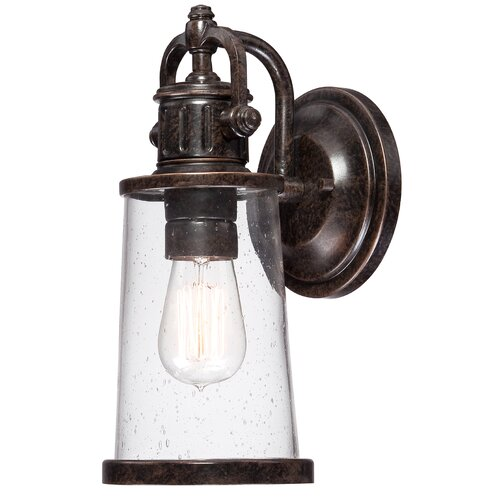 Quoizel Steadman 1 Light Outdoor Wall Lantern