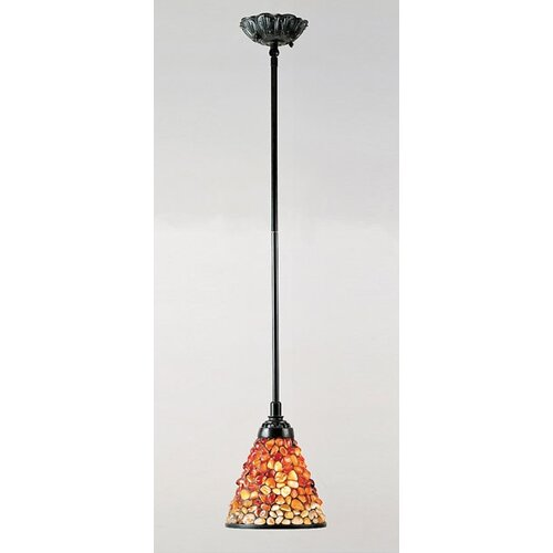 Quoizel Pomez 1 Light Tiffany Piccolo Pendant