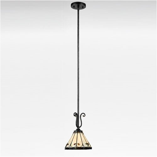Felice 1 Light Tiffany Piccolo Pendant