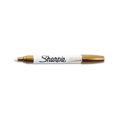 Sharpie® Permanent Paint Marker, Medium Point, Gold