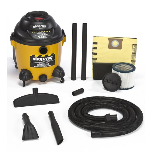 Shop-Vac 10 Gallon 5.0 Peak HP Right Stuff Drywall Wet / Dry Vacuum