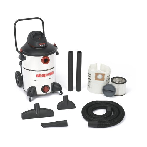 Shop-Vac Stainless Steel  Series 16 Gallon 6.5 Peak HP Wet / Dry Vacuum