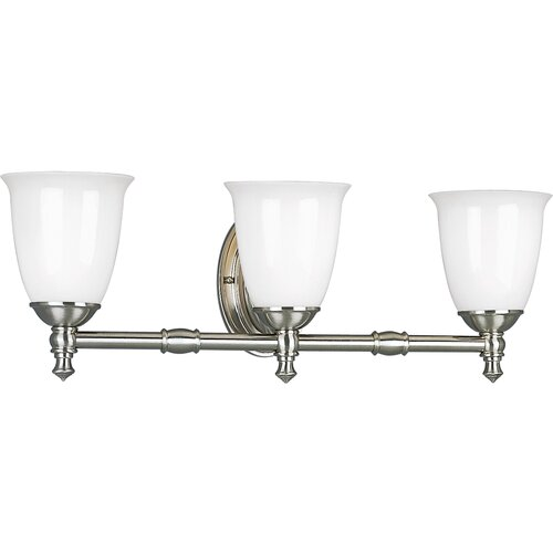 Progress Lighting Victorian 3 Light Vanity Light