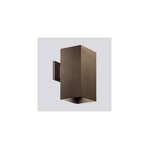 Progress Lighting Extruded Aluminum Square Incandescent 1 Light Outdoor Wall Lantern