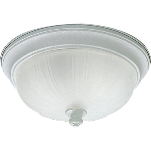 Progress Lighting Prescott 2 Light Flush Mount