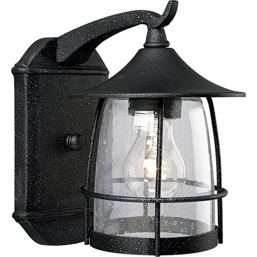 Progress Lighting Prairie Wire Frame 1 Light Outdoor Wall Lantern