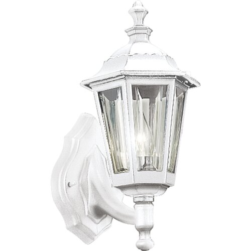 Progress Lighting Incandescent Cast Aluminum 1 Light Outdoor Wall Lantern