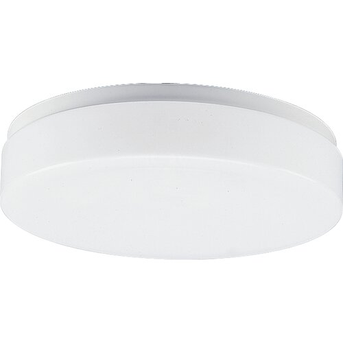 "Progress Lighting 11"" White Acrylic Contoured Ceiling Cloud"