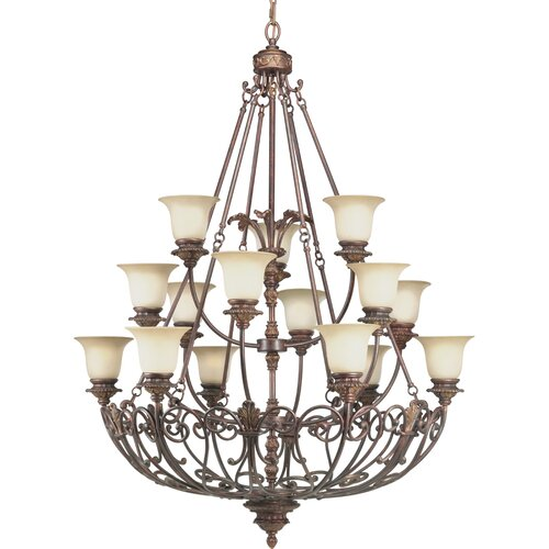 Progress Lighting Thomasville Messina 15 Light Chandelier