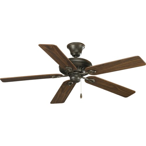 "Progress Lighting 52"" Signature 5 Blade Ceiling Fan"