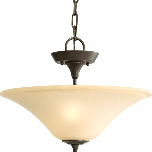 Progress Lighting Cantata 2 Light Convertible Inverted Pendant