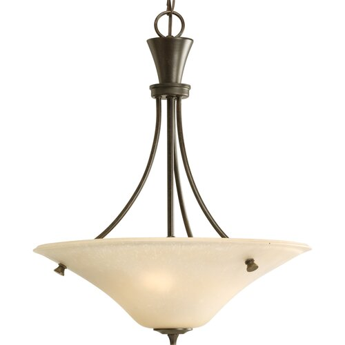 Progress Lighting Cantata 3 Light Inverted Pendant