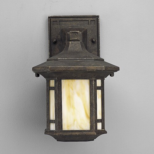 Progress Lighting Arts and Crafts 1 Light Outdoor Wall Lantern