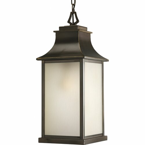 Progress Lighting Salute Medium 1 Light Hanging Lantern