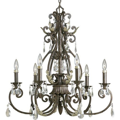 Savona 6 Light Candle Chandelier