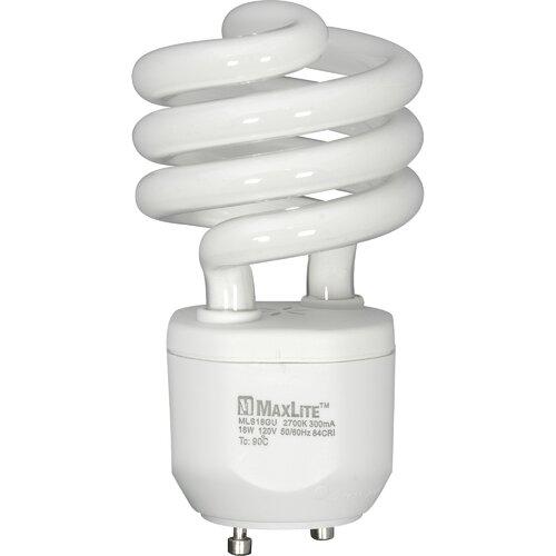 White Compact Fluorescent Light Bulb