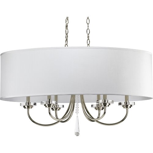 Progress Lighting Nisse 6 Light Chandelier