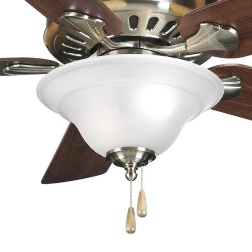 Progress Lighting Trinity 3 Light Bowl Ceiling Fan Kit
